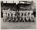 Baseball Collectibles:Photos, 1940's Philadelphia Stars Team Photograph with Oscar Charleston....