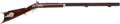 Long Guns:Muzzle loading, Unsigned Percussion Half Stock Target Rifle C. 1860...