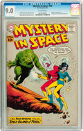 Silver Age (1956-1969):Science Fiction, Mystery in Space #66 (DC, 1961) CGC VF/NM 9.0 Off-white pages....