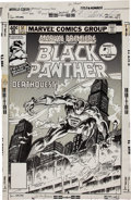 Original Comic Art:Panel Pages, Al Milgrom and Klaus Janson Marvel Premiere #51 Black Panther Cover Original Art (Marvel, 1979)....