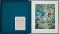 Original Comic Art:Miscellaneous, Carl Barks The Makings of a Fish Story LithographProgressive Proof Boxed Set #PP2 (Another Rainbow/Disney, 1988)....