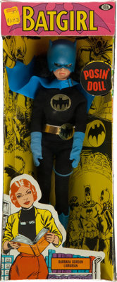 Super Queens Batgirl Posin' Doll (Ideal, 1967)