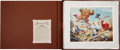 Original Comic Art:Miscellaneous, Carl Barks Trespassers Will Be Ventilated LithographProgressive Proof Boxed Set #PP2 (Another Rainbow/Disney,...