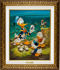 Original Comic Art:Paintings, Carl Barks Lost in the Andes Painting Original Art (1973)....