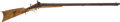 Long Guns:Muzzle loading, Unmarked American Side by Side Percussion Rifle/Sbotgun C. 1850...