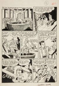 "Harry Harrison and Wally Wood Weird Science #13 (#2) ""The Meteor"" page 6 Original Art (EC, 1950)"