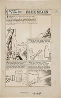 Original Comic Art:Panel Pages, Jack Kirby, Angelo Torres, and George Evans The World Around Us #W30 Undersea Adventure Original Art G... (Total: 58 Original Art)