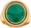 Estate Jewelry:Rings, Emerald, Gold Ring, Van Cleef & Arpels, French. ...
