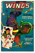 Golden Age (1938-1955):War, Wings Comics #118 (Fiction House, 1952) Condition: VF....