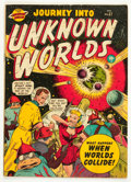 Golden Age (1938-1955):Science Fiction, Journey Into Unknown Worlds #37 (Atlas, 1955) Condition: VG-....