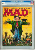 Magazines:Mad, Mad #43 (EC, 1958) CGC NM 9.4 Cream to off-white pages....