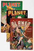 Golden Age (1938-1955):Science Fiction, Planet Comics Group (Fiction House, 1942-49) Condition:Incomplete.... (Total: 10 Comic Books)