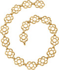 Estate Jewelry:Necklaces, Gold Necklace, Hammerman Bros.. ...