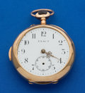 Timepieces:Pocket (pre 1900) , Exact, Swiss Gold Minute Repeater For Restoration. ...
