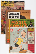 Golden Age (1938-1955):Miscellaneous, Comic Books - Assorted Golden Age Comics Group (Various, 1940s).... (Total: 7 Comic Books)