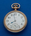 Timepieces:Pocket (post 1900), Howard 21 Jewel Series 11 Railroad Chronometer. ...