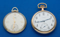 Timepieces:Pocket (post 1900), Two Pocket Watches Longines 17 Jewel & Tissot 17 Jewel Runners....