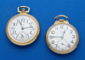 Timepieces:Pocket (post 1900), Two Elgin Gold Filled Pocket Watches Runners. ... (Total: 2 Items)