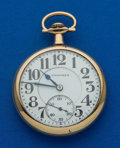 Timepieces:Pocket (post 1900), Hampden 21 Jewel 16 Size No. 105. ...