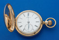 Timepieces:Pocket (pre 1900) , Cheshire Watch Co. 18 Size Hunters Case, circa 1887. ...