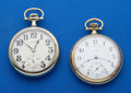 Timepieces:Pocket (post 1900), Two Illinois 17 Jewels Pocket Watches Runners . ... (Total: 2 Items)