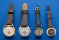 Timepieces:Pocket (post 1900), Four Wristwatches Hopalong Cassidy Gucci Accutron Bulova. ...(Total: 4 Items)