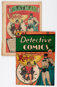 Detective Comics #38 (DC, 1940) Condition: FR