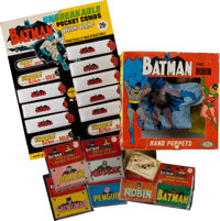 Batman Vintage Toy Group (1960s-70s)