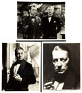 "Movie Posters:Mystery, Sherlock Holmes (Fox, 1932). Photos (3) (8"" X 10"").. ... (Total: 3Items)"