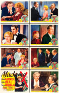 "Movie Posters:Drama, Madame X (MGM, 1937). Lobby Card Set of 8 (11"" X 14"").. ... (Total:8 Items)"