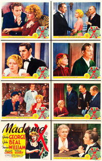 "Madame X (MGM, 1937). Lobby Card Set of 8 (11"" X 14""). ... (Total: 8 Items)"