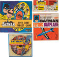 Memorabilia:Comic-Related, Batman Related Vintage Toy Group (Various, c. 1960's).... (Total: 14 Items)