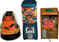 Batman-related Gumball/Toy Group (1960s-90s).... (Total: 6 Items)