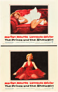 """Movie Posters:Romance, The Prince and the Showgirl (Warner Brothers, 1957). Lobby Cards (2) (11"""" X 14"""").. ... (Total: 2 Items)"""