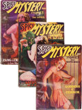 Pulps:Horror, Spicy Mystery Group (Culture, 1935-36).... (Total: 3 Items)