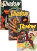 Pulps:Detective, Shadow Group (Street & Smith, 1938-41).... (Total: 3 Items)