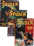 Pulps:Hero, The Spider Group (Popular, 1935-42) Condition: Average VG+....
