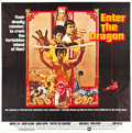 "Movie Posters:Action, Enter the Dragon (Warner Brothers, 1973). Six Sheet (81"" X 81"")....."