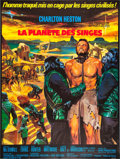 """Movie Posters:Science Fiction, Planet of the Apes (20th Century Fox, 1968). French Grande (47"""" X63""""). Science Fiction.. ..."""