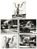 "Movie Posters:Science Fiction, The Deadly Mantis (Universal International, 1957). Reference Photos(5) (8"" X 10"").. ..."