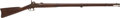 Long Guns:Muzzle loading, Very Fine US M1861 .58 Caliber Percussion Rifled Musket WithHistory of Ownership, Trenton 1864....
