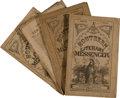 Military & Patriotic:Civil War, Dr. G. W. Bagby, editor. Four Issues of Southern Literary Messenger.... (Total: 4 )