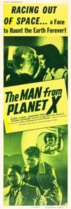 "Movie Posters:Science Fiction, The Man from Planet X (United Artists, 1951). Door Panel #6 (20"" X60"").. ..."
