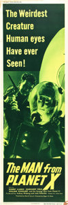 "Movie Posters:Science Fiction, The Man from Planet X (United Artists, 1951). Door Panel #2 (20"" X60"").. ..."