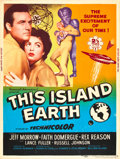 "Movie Posters:Science Fiction, This Island Earth (Universal International, 1955). Poster (30"" X 40"") Style Z.. ..."