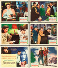 """Movie Posters:Hitchcock, Spellbound (United Artists, 1945). Title Lobby Card and Lobby Cards (5) (11"""" X 14"""").. ... (Total: 6 Items)"""