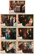 "Movie Posters:Hitchcock, Saboteur (Universal, 1942). Lobby Cards (7) (11"" X 14"").. ...(Total: 7 Items)"