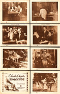 "Movie Posters:Comedy, Sunnyside (First National, 1919). Lobby Card Set of 8 (11"" X 14"")..... (Total: 8 Items)"