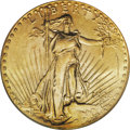 Saint-Gaudens Double Eagles: , 1926-D $20 MS61 PCGS. Decades ago, the 1926-D was a prized raritywithin the series of Saint-Gaudens double eagles. Since t...