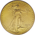 Proof Saint-Gaudens Double Eagles: , 1915 $20 PR64 PCGS. Despite a tiny production of just 50 pieces,there doesn't appear to be an appreciable drop-off in the ...